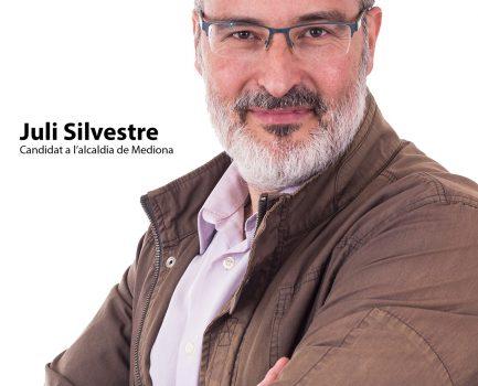 Juli Silvestre, candidat a l'alcaldia de Mediona per Som Mediona-ERC.